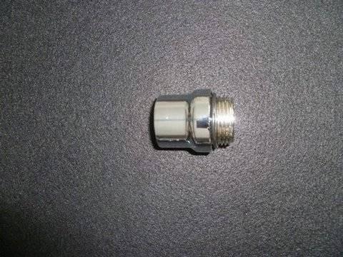 Pojistný ventil chromovaný k beztlakým kamnům