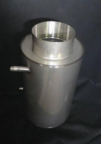 Nerezový teplovodní výměník 150 - jednookruhový