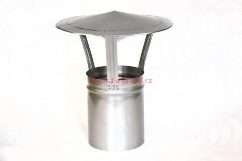 Nerezová komínová stříška pr.130mm