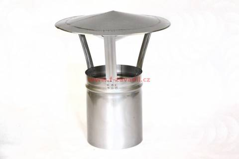 Nerezová komínová stříška pr.190mm